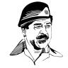 صدام بكل فخر